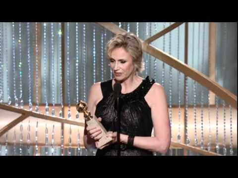 Jane Lynch - 2011 Golden Globes Awards