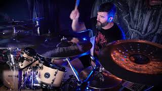 MISERY INDEX Adam Jarvis - The Choir Invisible (drum playthrough)