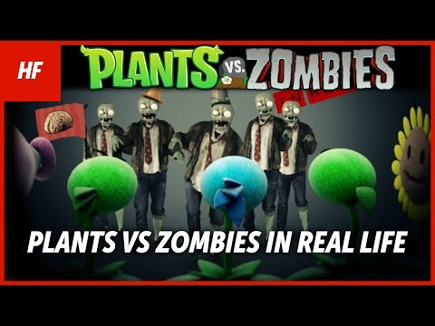 PLANTS VS ZOMBIES IN REAL LIFE (FAN MADE) (by HETHFILMS) Music Videos