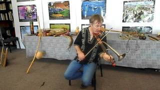 John Zeretzke Founder of 'Flutes Across The World' Teaches Children
