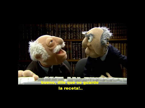 Los muppets.-Receta de calabaza