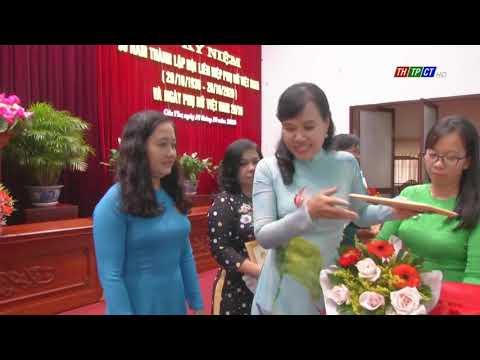 Thốt Nốt họp mặt 90 năm ngày thành lập Hội Liên hiệp Phụ nữ Việt Nam