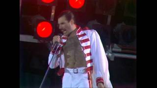 Queen We Will Rock You Live At Wembley 11 07 1986