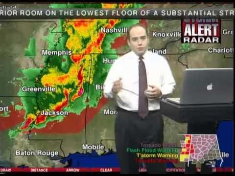 April 27, 2011 Historic Tornado Outbreak - ABC 33/40 Live Coverage 3:30am-9:00am