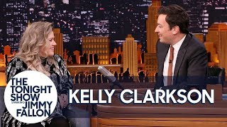 Download Lagu Kelly Clarkson and Jimmy Remember the First Time They Met on The Tonight Show Gratis STAFABAND