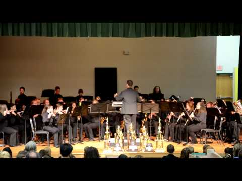 Evans Middle School Spring Concert 2012- Concert Band 1 - Song 4