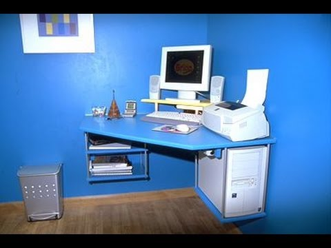 Mesa rinconera para ordenador youtube - Como hacer una mesa de ordenador ...
