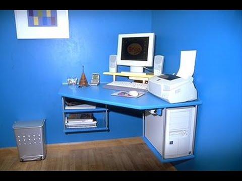 Mesa rinconera para ordenador youtube for Mesa de esquinero