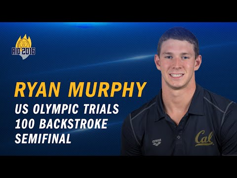 Cal Men's Swimming: Ryan Murphy - US Olympic Trials (100 backstroke semifinal)