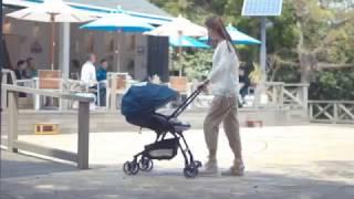 Xe đẩy Combi Mechacal Handy 2cas cho mẹ thích du lịch
