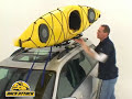 Thule 835PRO Hull-a-port Pro Kayak Carrier Demonstrated by Rack Attack
