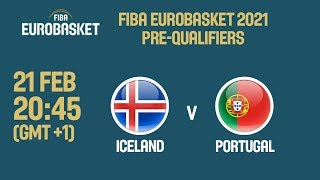 LIVE Iceland v Portugal FIBA EuroBasket 2021 PreQualifiers 2019