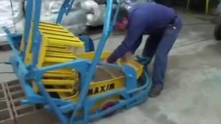 Изготовление шлакоблоков в гараже, идея для бизнеса