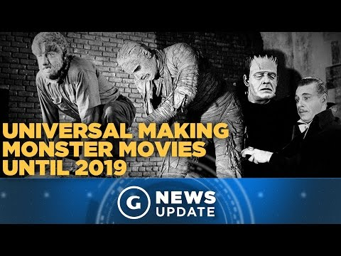 Universal Monsters to Have New Movie Every Year - GS News Update