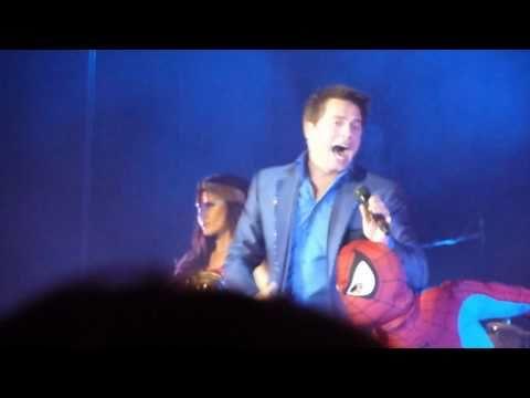 Spiderman + Wonder Woman Theme - John Barrowman Live At Cardiff video