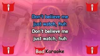 Bad Karaoke - Mark Ronson Feat. Bruno Mars - Uptown Funk