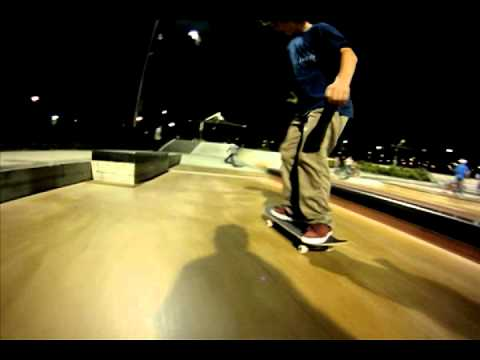 "Tyler ""Manchild"" Pacheco Santa Clarita Skatepark Laps SYN Skateboarding Clips"