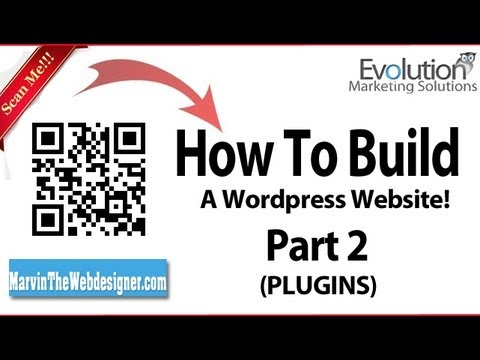 0 How to build your very own wordpress website from scratch! (Plugins) Part 2