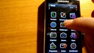 Samsung I8910 hd mit hyperx v11