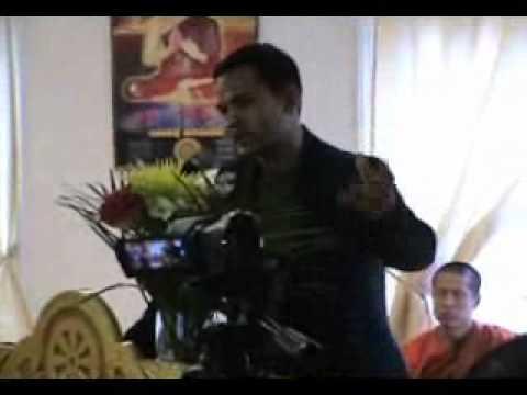 Meach Sovannara from the Khmer Post visited Watt Poirier Pagoda in Montreal, Quebec, Canada