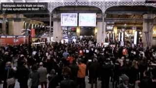 HD-Flash Mob -France- gare du nord - Farandole l
