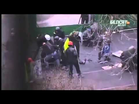 Kiev sniper shoot protesters 20 02 2014