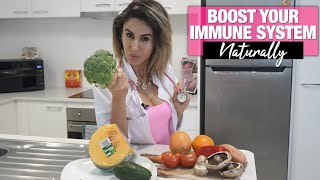 Cold and Flu Prevention - Boost Your Immune System Naturally