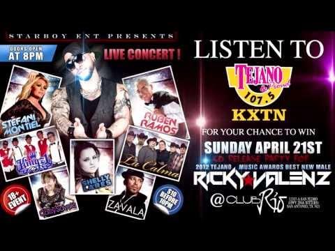 Listen To KXTN to Win Ricky Valenz CD Release Tickets
