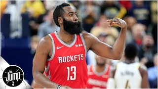 James Harden says he's learning a new move that will look like a travel | The Jump