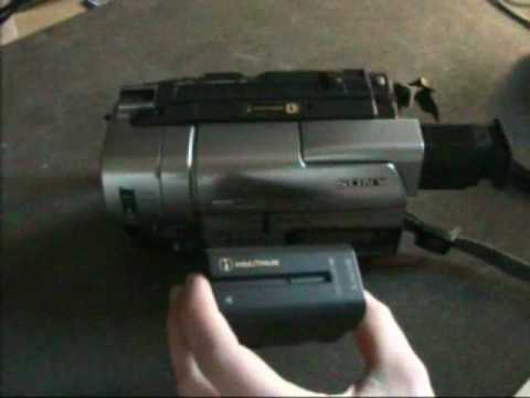 The Sony CCD-TRV77E Hi8 XR Handycam!
