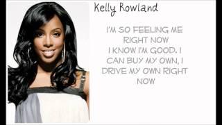 Kelly Rowland Feelin' Me Right Now