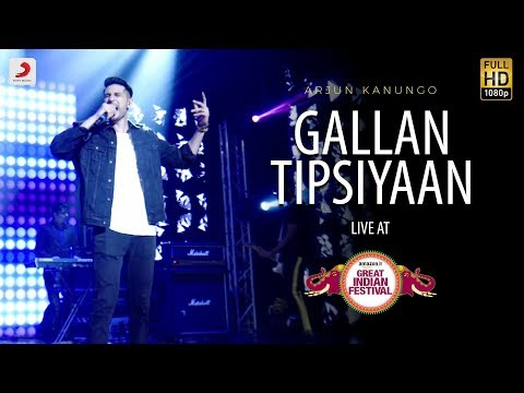 Gallan Tipsiyaan - Live @ Amazon Great Indian Festival | Arjun Kanungo