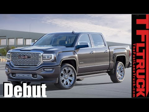 2016 GMC Sierra Denali Ultimate: Top GMC Pickup now goes to 11