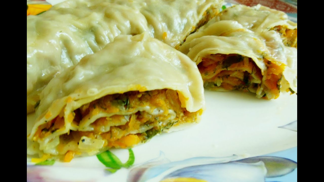 Ханум рецепт с пошаговым фото с картошкой и мясом в духовке