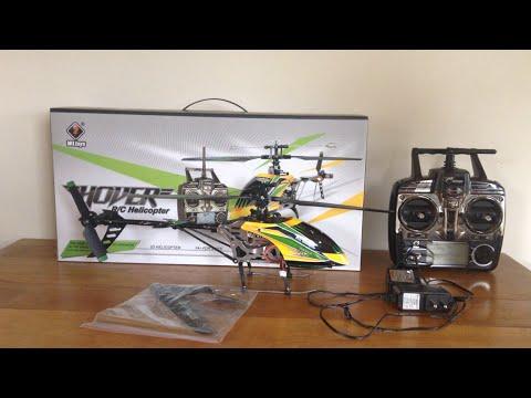 WL V-912 Skydancer Review and Flight