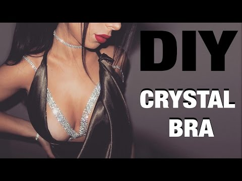 DIY CRYSTAL BRA