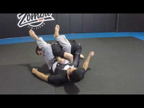 Right or wrong to cross feet in armbar?