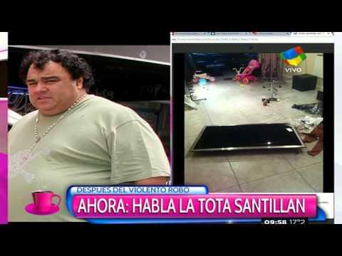 """Robo a la """"Tota"""" Santillán: Desgarrador relato"""