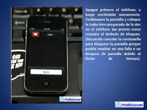 Tarjeta Gevey - Paso a paso para liberar Iphone