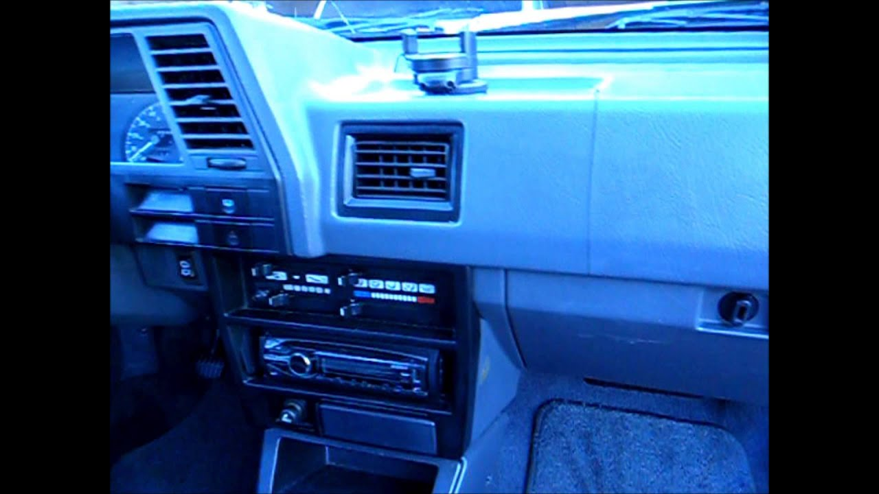 Amazingly Clean - 1987 Nissan Sentra XE - YouTube