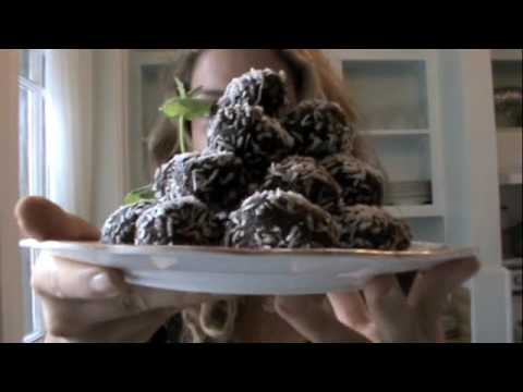 Raw Cacao Superfood Dessert Balls Recipe, Ep46