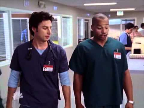 Scrubs - Hooch is Crazy and Worlds Most Giant Dr.