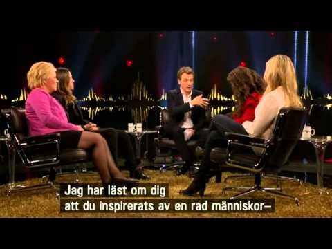 Jared Leto on Skavlan 21 02 2014
