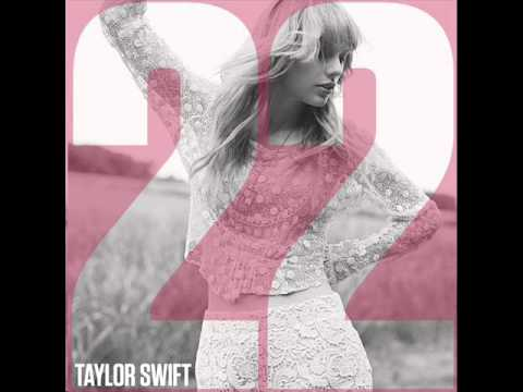 Taylor Swift- 22(official instrumental w/out backing vocals)