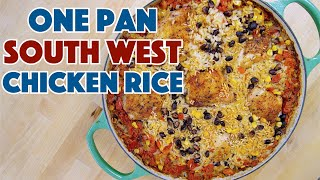 How To Make One Pan South West Chicken & Rice || Glen & Friends Cooking