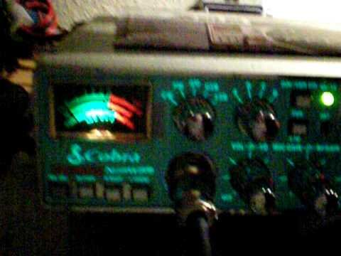 Cobra 200 GTL DX - listening CB-Radio