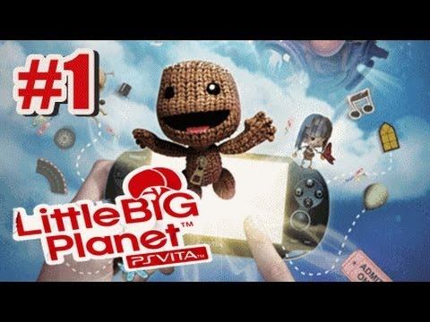 Little Big Planet PS Vita - Story Mode Part 1