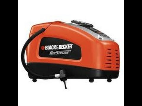 Black and Decker Air Station Inflator REVIEW - Electric Air Pump