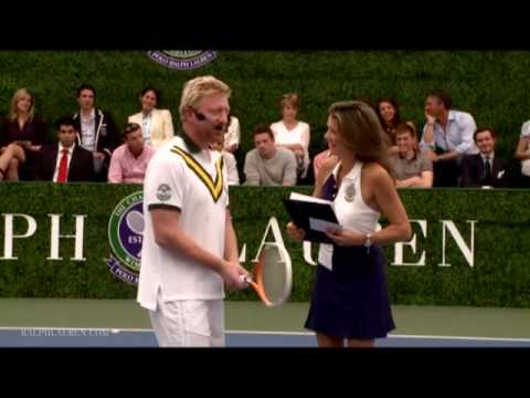 Boris Becker: How to Hit The Forehand