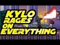 Star Wars: Kylo Ren es tan iracundo que destruye todo en este video - Noticias de andy serkis